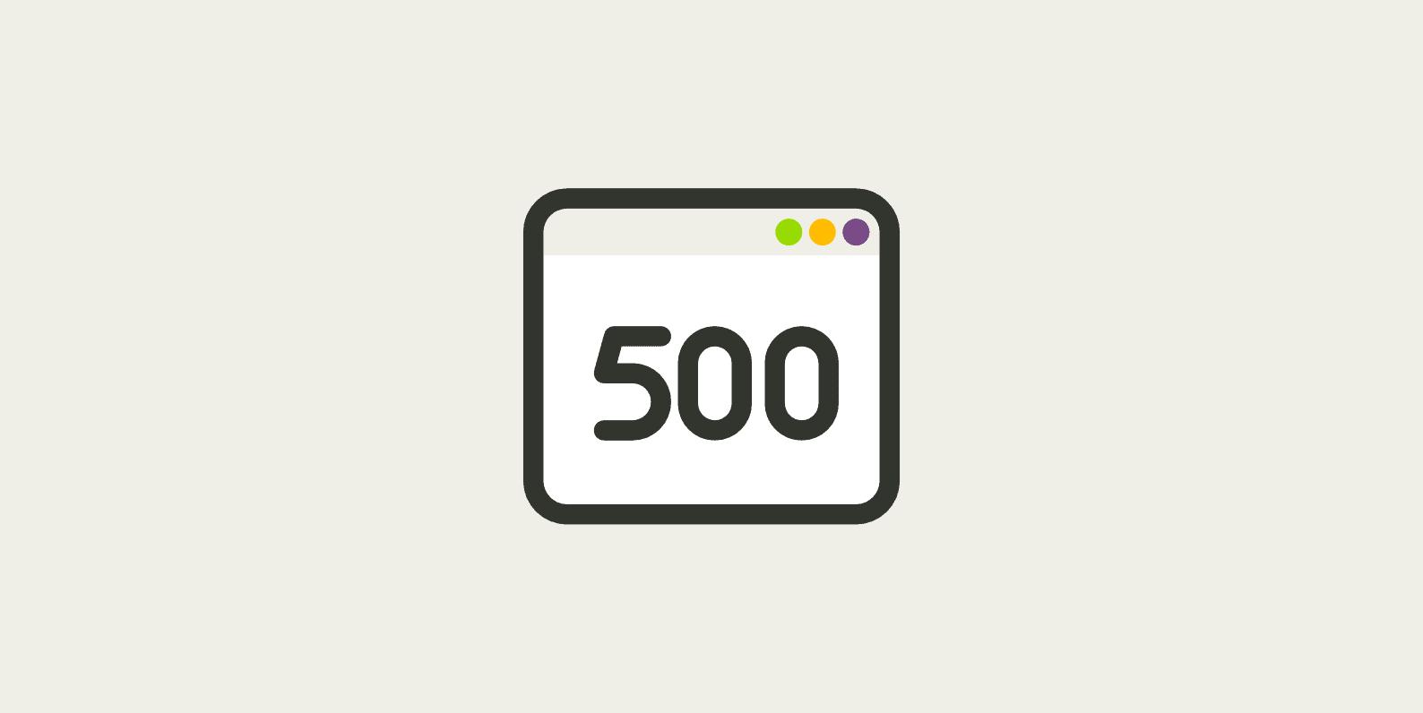 Http Error 500 Hatası Nedir?