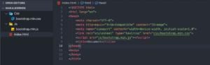 bootstrap-site-yapimi