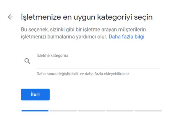 google-business-kategori-secme